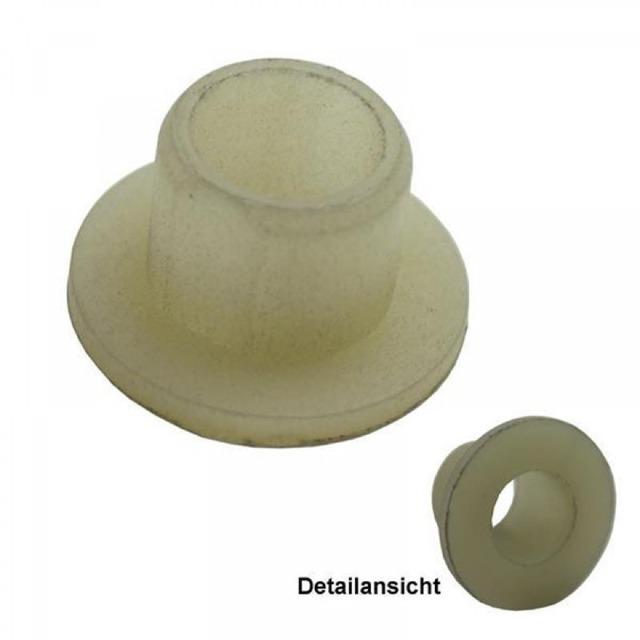 10 Stück Set Kunststoff Buchsen Polyamid PA Kunststoffbuchsen Distanzbuchse