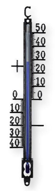 Lantelme 18 cm Außenthermometer Metall