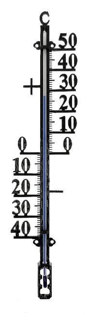 Lantelme 27cm Haus und Gartenthermometer Metall