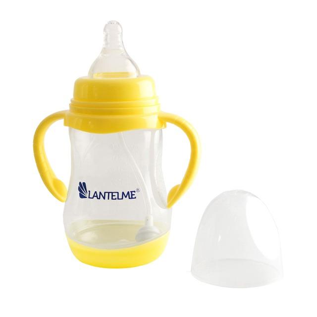 Lantelme Babyflasche mit beidseitigen Griffen und Filter