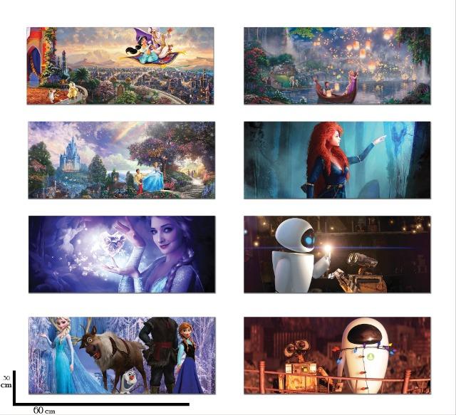 Bilder Kinderzimmer, Leinwand mit Motiv Disney, Wandbilder xxl