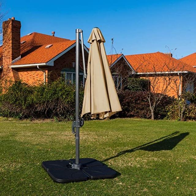 Sonnenschirm Rechteckig Ampelschirm 295cm