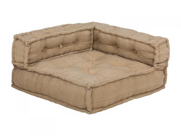 Sofa Caribou II Ecke 80x80 beige