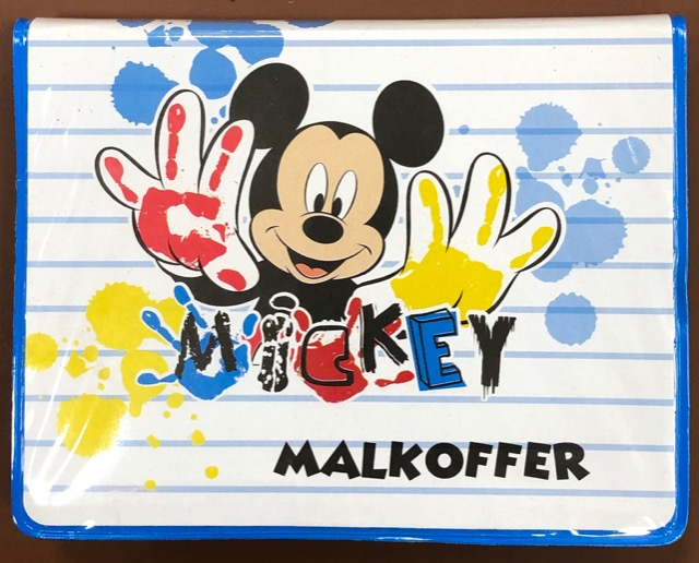 Mickey Mouse Malkoffer 25 tlg.