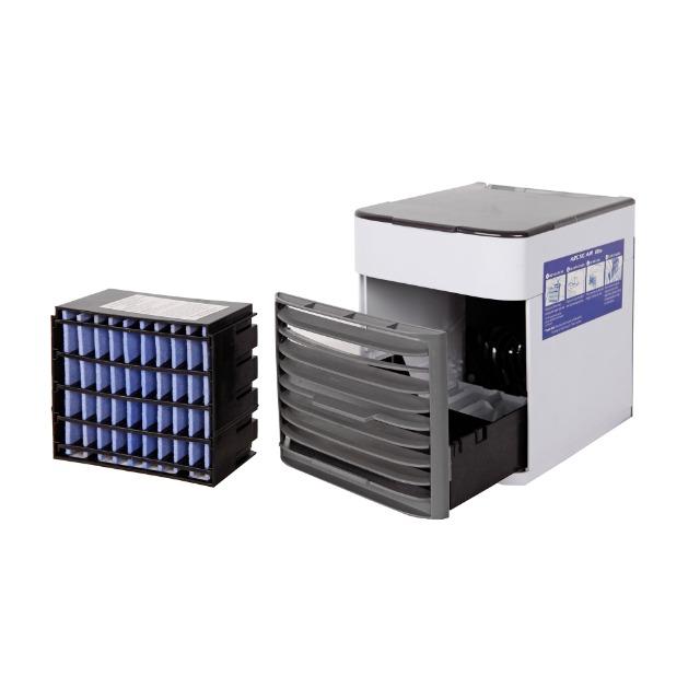 Mini Klimagerät - 3 Stufen - mit USB Anschluß und Filter - Klimaanlage Aircooler
