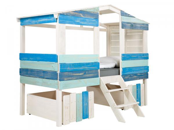 Kinderbett Safari Haus inkl. Matratze