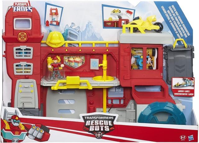 Hasbro Transformers B5210EU4  Feuerwehrzentrale Spielset Spielzeug Sonderposten Weihnachten