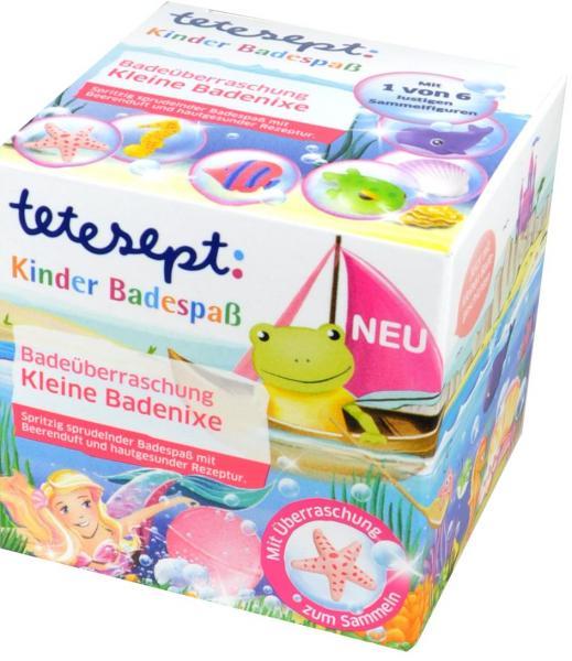 Tetesept Kinderbad Kleine Badenixe