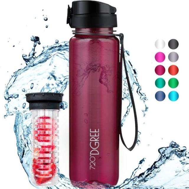 !Overstock Grade A - Gym Bottles - Brand: 720°DGREE - EXPORT ONLY
