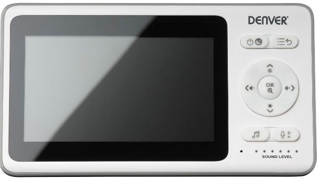 DENVER BC-343 Drahtlose Baby- / Überwachungskamera Mit 4,3-Zoll-LCD-Farbmonitor