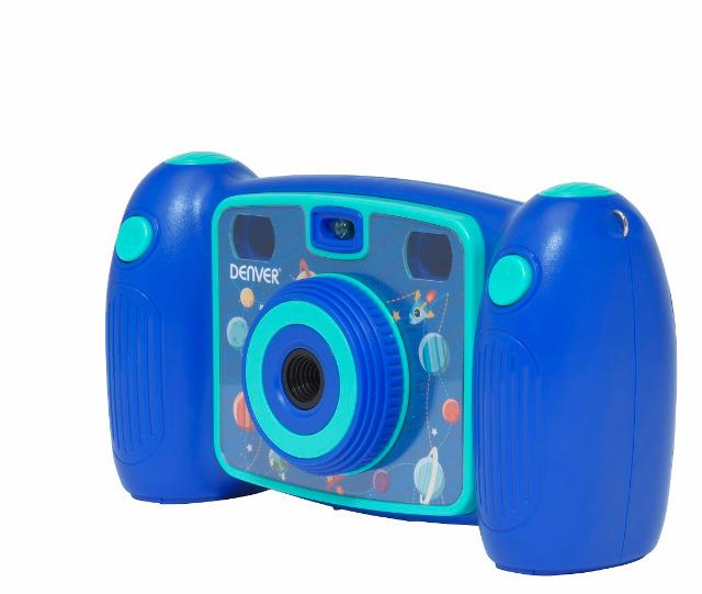 DENVER KCA-1310 BLUE & PINK Digitale Kinderkamera mit eingebautem Schlangenspiel