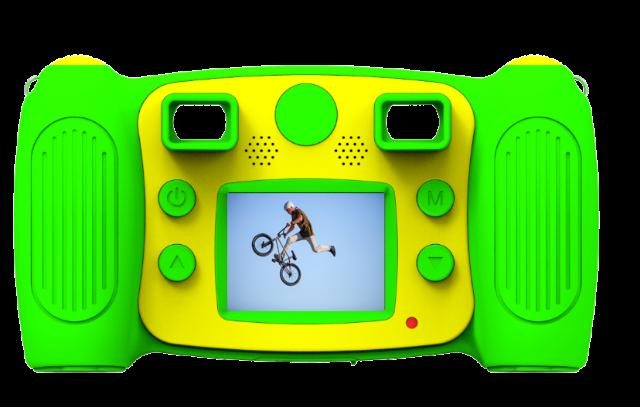 DENVER KCA-1310GREEN Digitale Kinderkamera mit eingebautem Schlangenspiel