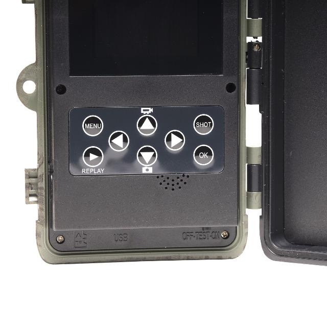 DENVER WCT-8020W Digitale Wildlife-Kamera mit 8-Megapixel-CMOS-Sensor und Wi-Fi-Funktion