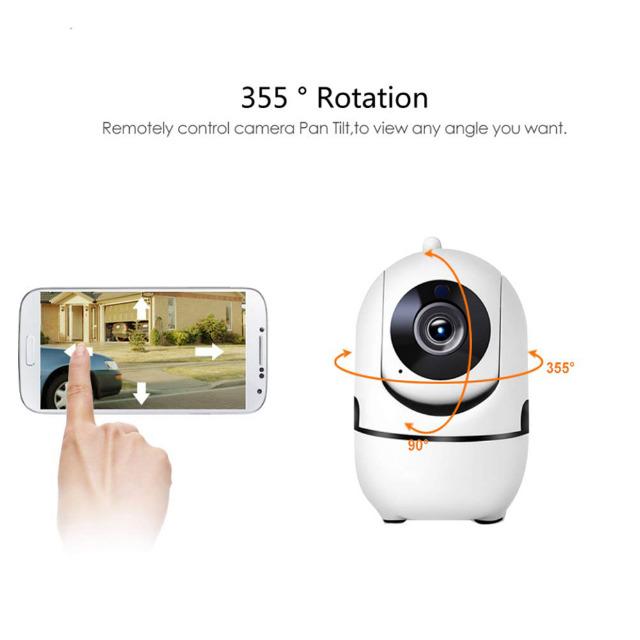 DENVER SHC-150 Intelligente Wi-Fi / IP-Innenkamera Mit 1mpixel CMOS Sensor - TUYA kompatibel