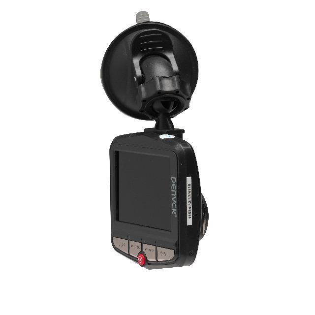 Denver CCT-1210MK2 Auto-Dashcam mit 2,4-Zoll-LCD-Bildschirm Startet und stoppt automatisch mit dem Auto - Auflösung bis zu 720p
