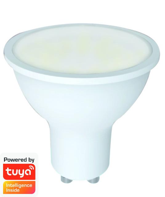 DENVER SHL-440 GU10 WI-FI LIGHT SPOT TUYA-kompatibler & Google-Assistent / Amazon Alexa