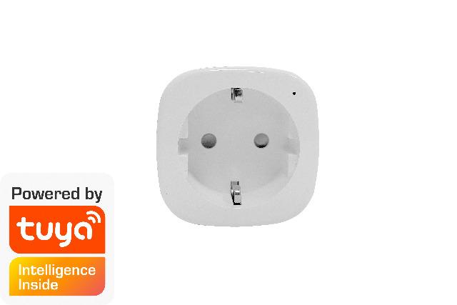 DENVER SHP-100 Smart Home Netzstecker TUYA-kompatibler & Google-Assistent / Amazon Alexa