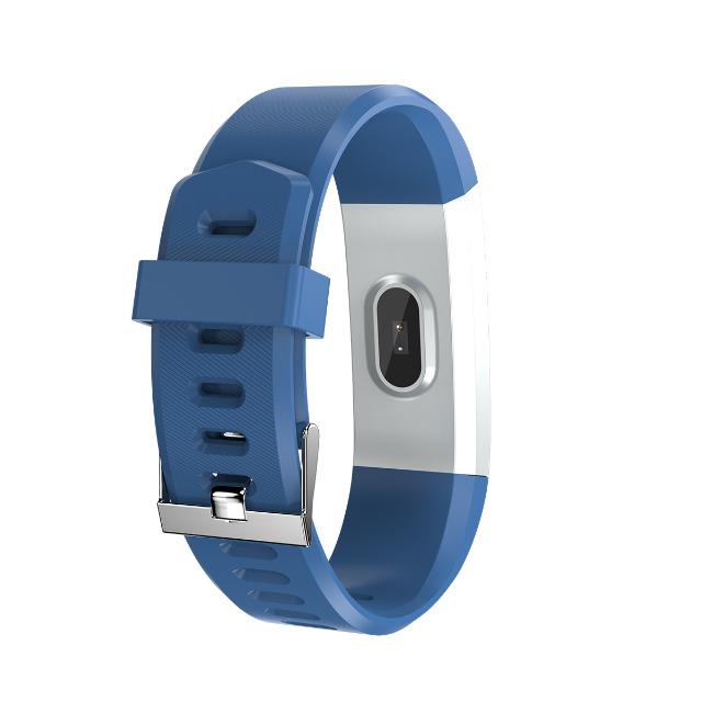 DENVER BFH-16 Fitnessband mit Herzfrequenzmesser und Farbdisplay Verfolgen Sie Ihre Aktivität und Ihren Schlaf. für Android + iPhone