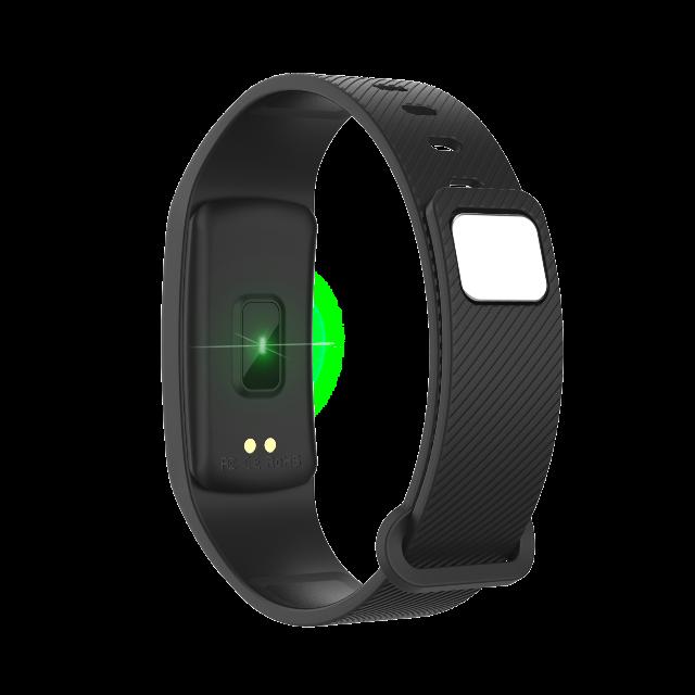 DENVER BFH-150Fitnessband mit Herzfrequenzmesser und OLED-Display Verfolgen Sie Ihre Aktivität und Ihren Schlaf