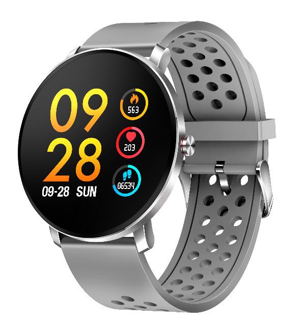 DENVER SW-171 Bluetooth Smartwatch mit Herzfrequenzsensor IP67 staub- und wasserdicht