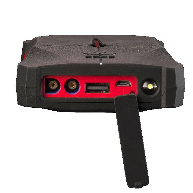 DENVER JST-9200 Jumpstarter Powerbank mit 9200mAh Batteriekapazität
