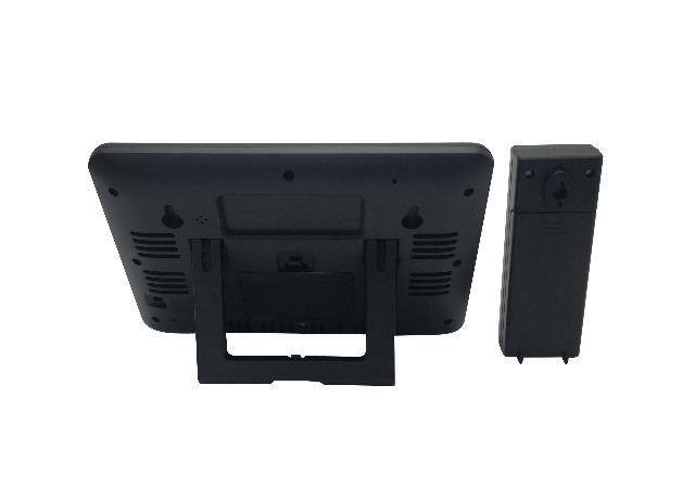 DENVER WS-520 Wetterstation mit Uhrfunktion & Innen-/Außenmessung 3 Touch-Tasten auf der Vorderseite für einfache Bedienung