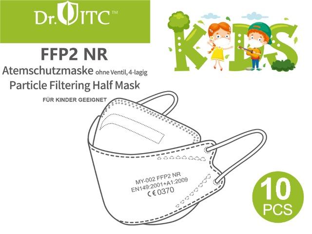 Atemschutzmaske, Mundschutz FFP2 Kindermaske