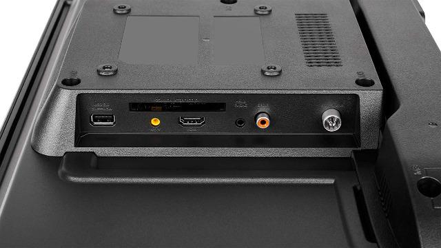 22 Zoll FullHD TV Krüger&Matz KM0222 TV DLED Triple Tuner DVB-T2/T/C USB CI+ Fernseher Bildschirm Wandmontage EEK: F
