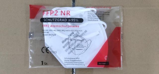 FFP2 Atemschutzmaske CE2163 einzeln verpackt deutsche Beschreibung Gesichtsmaske Mundschutz