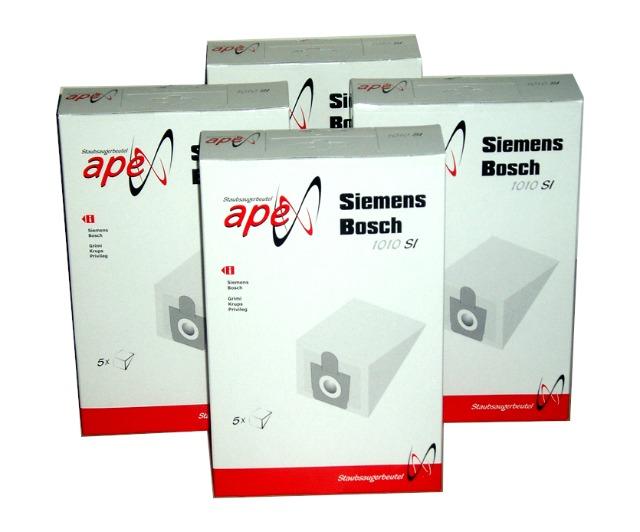 Apex verschiedene Staubsaugerbeutel für viele Markengeräte wie z.B Vorwerk 1 Palette mit 228 Packungen