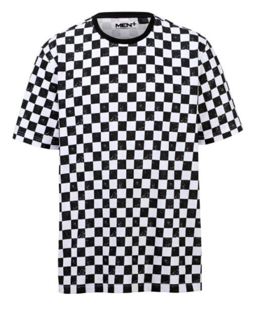 T-Shirt allover gemustert