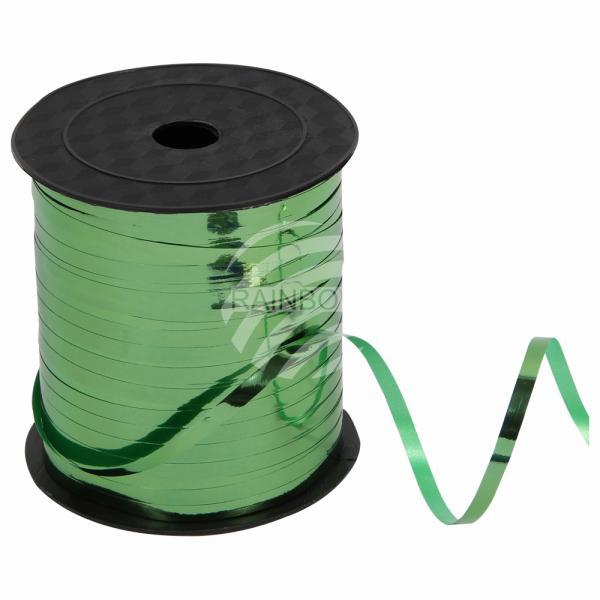 Geschenkband Dekoband grün glänzend ca. 228,6m