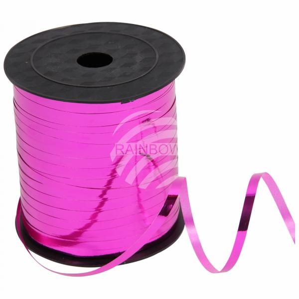 Geschenkband Dekoband pink glänzend ca. 228,6m