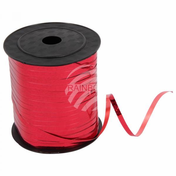 Geschenkband Dekoband rot Glitzer glänzend