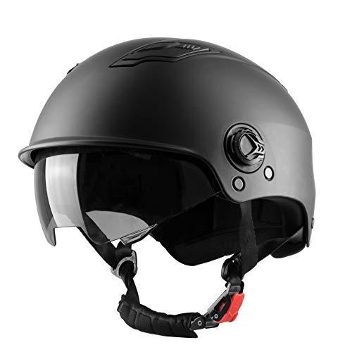 !WESTT Skateboard-Helm mit Sonnenvisier I Leichter Skatehelm I Fahrrad-Helm I BMX-Helm I Skaterhelm Herren Größe L/XL - Neu