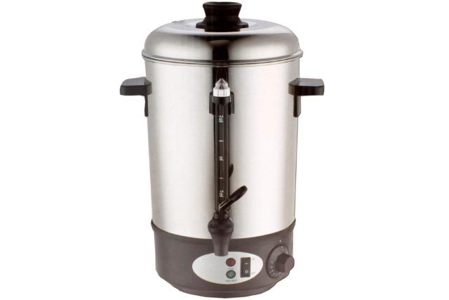 Glühweinbehälter 8 Liter 1800 Watt Edelstahl Glühwein Topf Glühwein Behälter Kocher