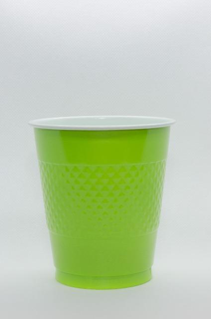 AMSCAN Einweg Trinkbecher 50 x 473 ml Farbe Grün Party