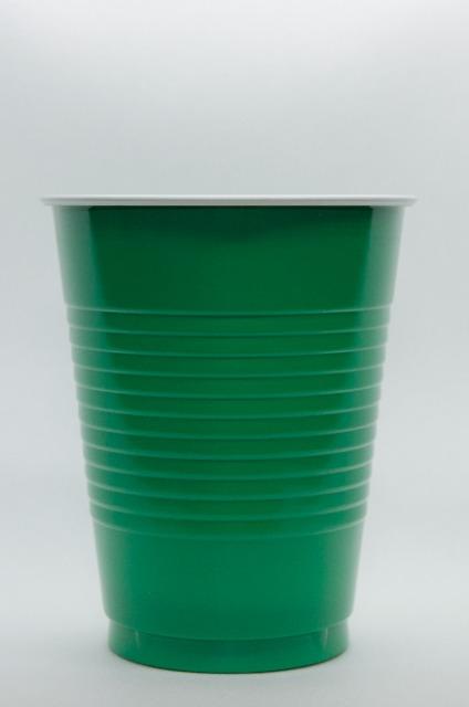 !AMSCAN Einweg Trinkbecher 50 x 473 ml Farbe Kiwi