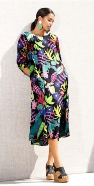 !Kleid mit Print