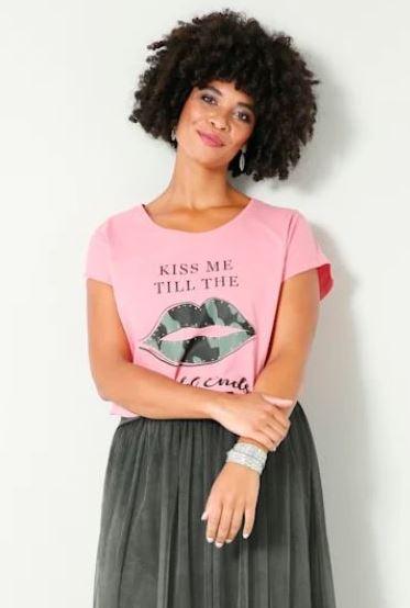 !Shirt mit Strasssteinen