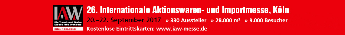 IAW- Internationale Aktionswaren- und Importmesse in Köln