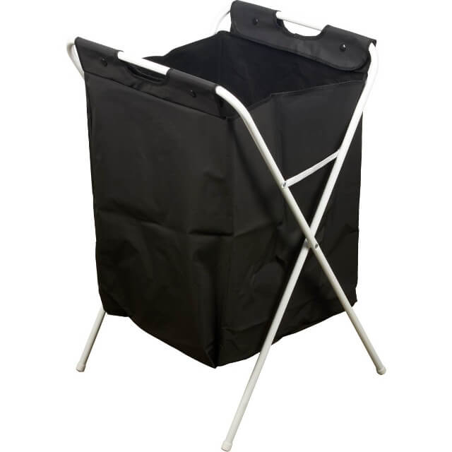 Stabiler Wäschekorb faltbar mit abnehmbaren Wäschesack