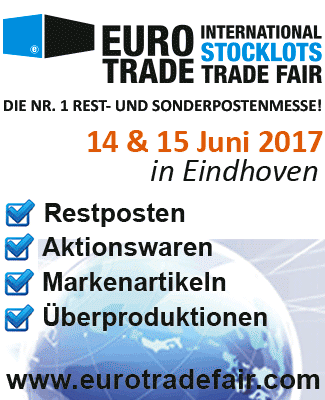 EUROTRADE - International Stocklots Trade Fair in Eindhoven, Manchester und Hamburg
