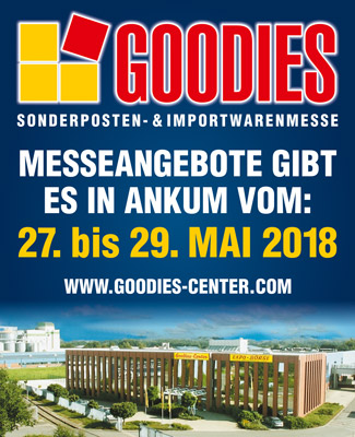 GOODIES Sonderposten- & Importwarenmesse in Ankum
