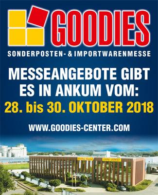 GOODIES Sonderposten- & Importwarenmesse