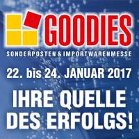 Goodies Handelsmesse 22.-24.01.2017
