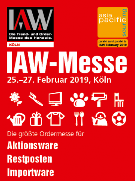 IAW - 29. Internationale Aktionswaren- und Importmesse in Köln